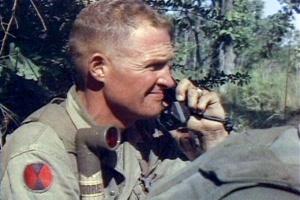 image of Lieutenant General Hal Moore at la Drang, leadership in dark times