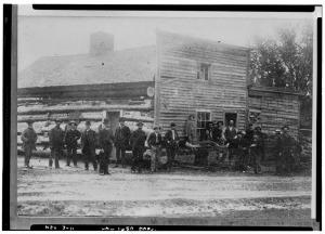 pioneers, American history, log cabin